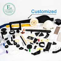 Plastic products manufacturer custom materials plastic delrin parts