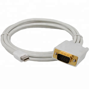 High Speed MiNi DP to VGA 1.8M Thunderbolt Cable for Macbook Pro