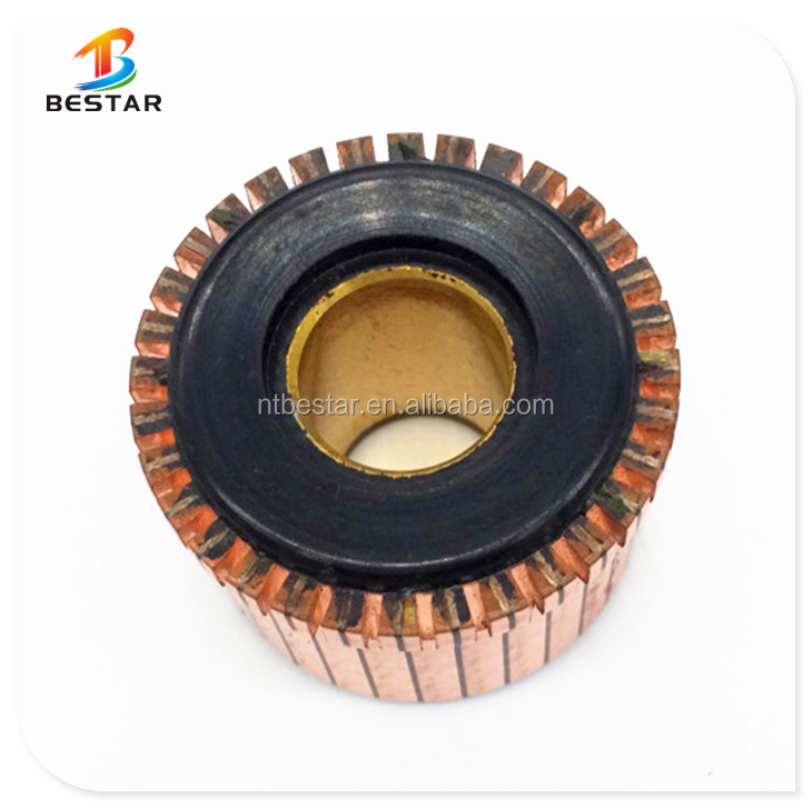 OD36.5*ID15*H29-32Pcommutator for power tools armature motor in stock ,free sample