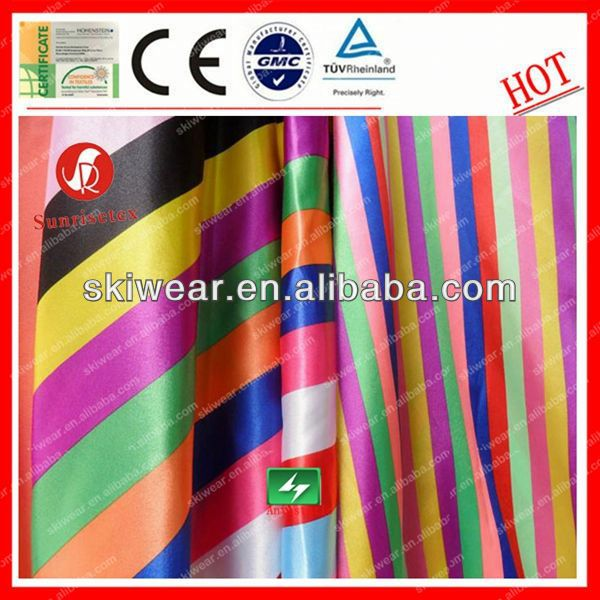 soft antistatic satin back dupion/slub satin