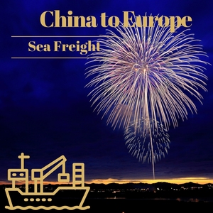 Dangerous Goods Freight Forwarder Fireworks Shipping to Europe Sea Container Prices