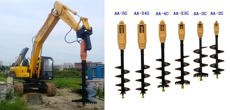 Alibaba China Skid Steer Loader Attachment Hydraulic Earth Rock ...