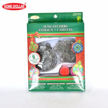 Wholesale DIY christmas kids suncatchers craft kits for painting
