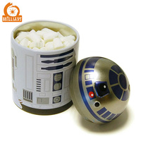 Fancy Hot Selling Cute Metal Round Mints Gum Tin Box for Sweets Box