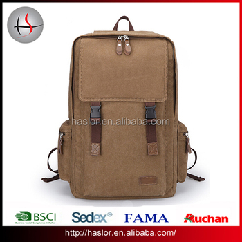 Nice Fashionable High Class Student School Canvas Book Bags For S