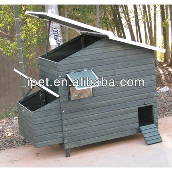 Fancy Wooden Egg Laying Chicken Coop Cc015