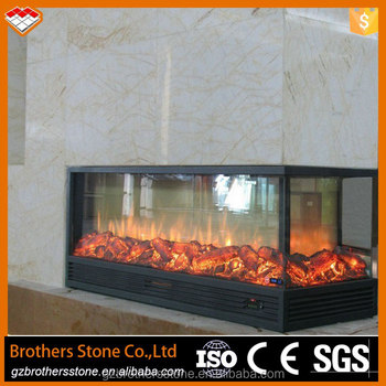 Home Depot Wall Mounted Style Selections 3 Sided Electric Fireplace With Led Flame Electrical Fireplace