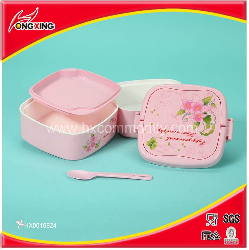 PP inner heat lunch tiffin box keep food hot