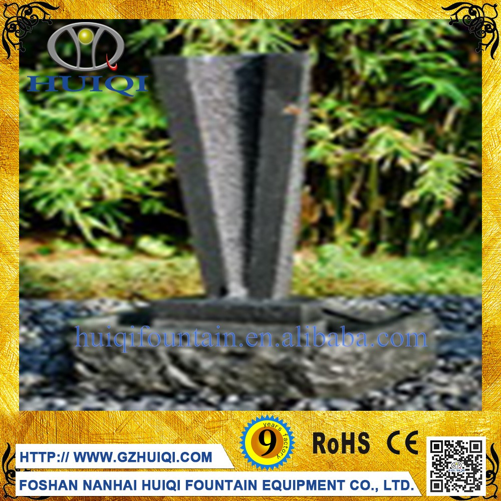 Modern Outdoor Garden Decoration Marble Stone Art Water Carved Fountain