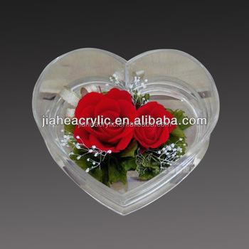 Forma De Corazón De La Boda Favor Cajas De Flores Buy Cajas Favor