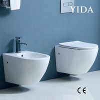 Ceramic Wall Hung Rimless Toilet from YIDA