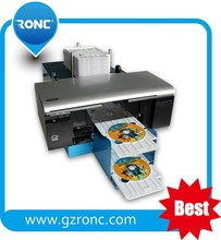 Automatic CD/DVD inkjet printer printing machine
