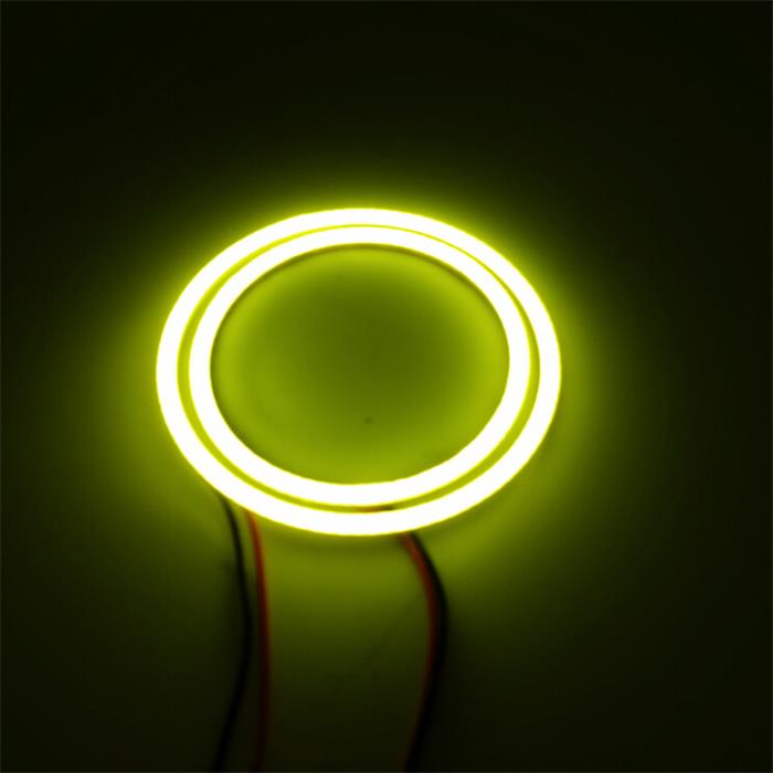 Varies Size COB Halo Rings LED Angel Eyes Kit For E46 For Auto Car Headlight