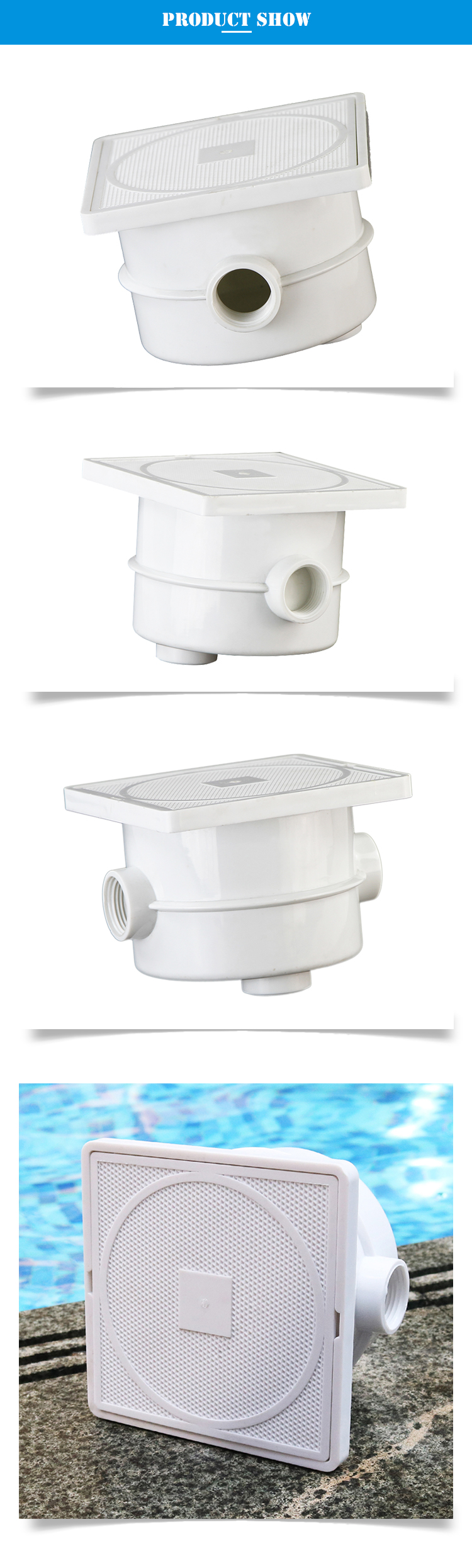 Abs White Color Plastic Waterproof Connection Led Lights Swimming Pool Junction Box View Swimming Pool Junction Box Fanlan Product Details From Guangzhou Fenlin Swimming Pool Sauna Equipment Co Ltd On Alibaba Com