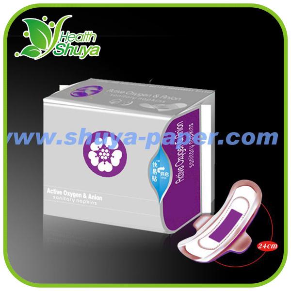 Lady Anion Pads Negative Ion Sanitary Pad Manufacturer