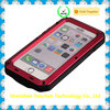 Fancy Waterproof Shockproof tough Gorilla Glass Aluminum Metal Case for iphone waterproof shockproof heavy duty case