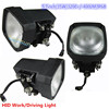 5.7'' 35w 55w hid work light 3200lum hid xenon off road lamp for suv boat truck tractor hid driving