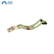China copper sheet metal stamping punching pressed metal parts