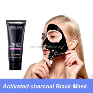 Activated charcoal Blackhead mask peel off black mask deep cleansing