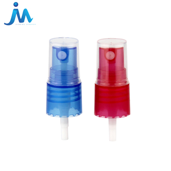 High Quality New Design Colorful Plastic Pump Spray Nozzle Perfume Hand Pump Sprayer