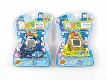 transparent handheld virtual pet keychain electronic pet game tamagotchi toy 7becfd344