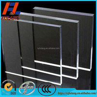 polycarbonate sound barrier acrylic sheet with high impact resistance long time not yellowed