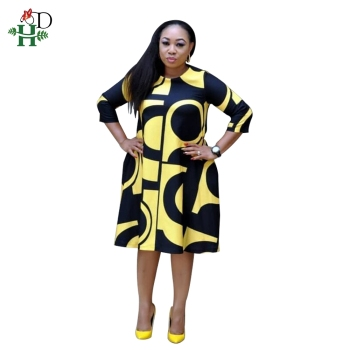 H & D Hot Styles Fashion Women Clothes African Women Dresses With Best Price Ladies Fashion Clothes