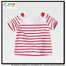 BKD cotton summer children t-shirt transfers