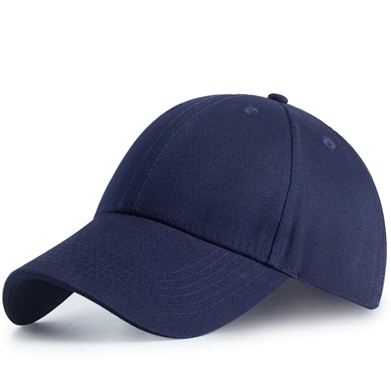e929622c3ca Get Quotations · CYPER TOP Classic Unisex Cotton Dad Hat Adjustable Solid  Baseball Cap Sports Plain Cap