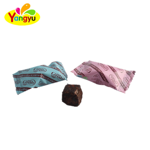 Truffle Chocolate with blue and pink packing