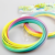 2020 Trending Product Amazon Hot Sell Plastic Rainbow Magic Flow Ring Toys Funny Bracelet Popular Toys