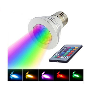 Dimmable interior lights 3w color changing led spotlight with remote control