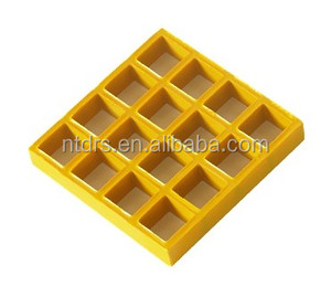Low price high quality pvc gratings & FRP grating & Colorful Plastic floor grating