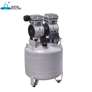 ISO 13485/MEDICAL CE CERTIFIED 750W HIGH QUALITY SILENT OIL-FREE DENTAL AIR COMPRESSOR