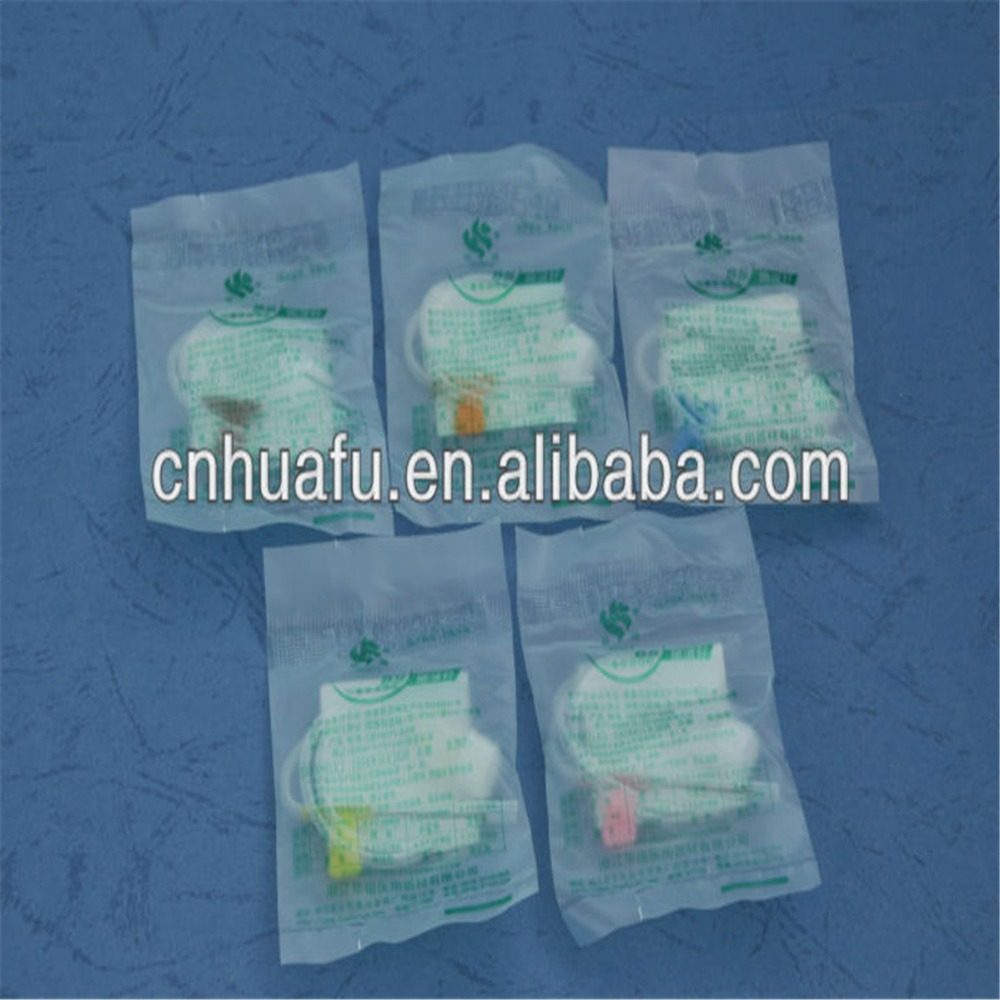 HuaFU ISO9001 certificates scalp vein infusion set