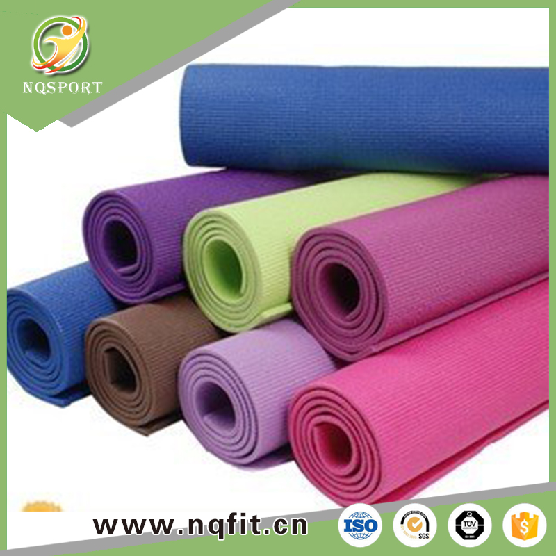 High density Eco friendly Natural yoga mat private label