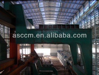 ccm machine single ladle car for continuous casting machine