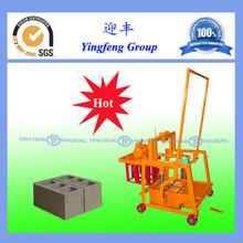 Hydraulic pressure QMJ2-45 mobile type cement block laying machine with low price