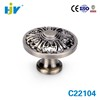 New design decorative brass kitchen cupboard handle knobs
