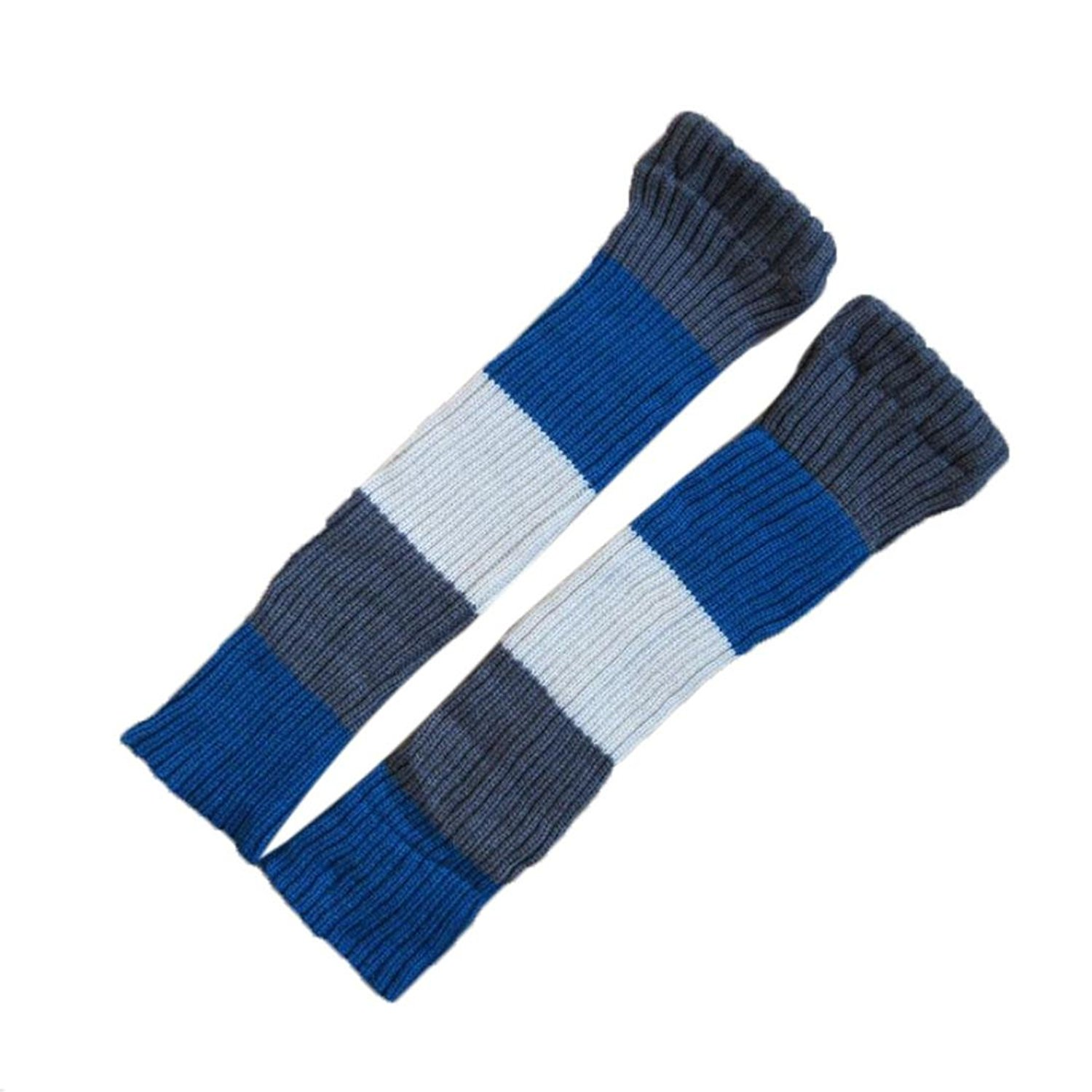 6ed79b11a23 Get Quotations · RNTOP Women Striped Leggings Socks Thick Knitted Heap Over  Knee Thigh High Socks