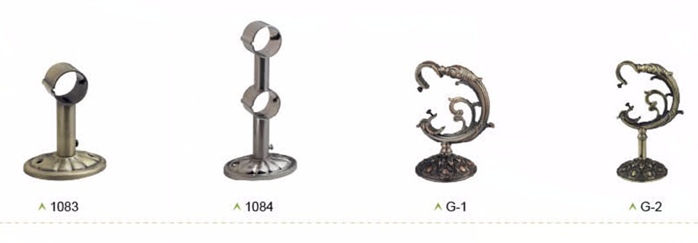 Top Design High Quality Curtain Rod Holder,Curtain Rod Accessories ...