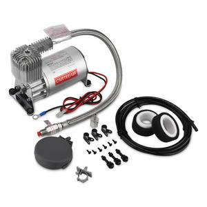 300PSI truck air brake compressor for car suspension system, 12V air compressor for air bag suspension trailer