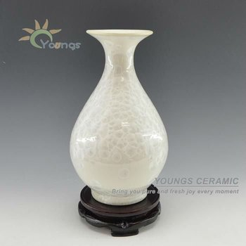 Chinese Crystalline Glazed Ceramic Flower Vases For Wholesale Buy
