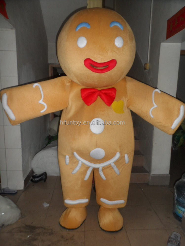 Gingerbread Man Mascot Costume Gingerbread Man Mascot Costume Suppliers and Manufacturers at Alibaba.com : gingerbread costume for adults  - Germanpascual.Com