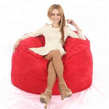 Sensational Visi 4Ft Foambag Large Bean Bag Luxury Soft Material Foam Beanbag Chair For Adults Lazy Bag Cover Living Room Sofas Chair Lounge Buy Bean Bag Dailytribune Chair Design For Home Dailytribuneorg