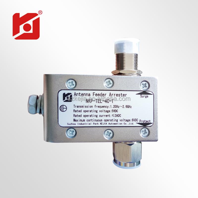 Satellite Antenna Surge Protecor/navigation Antenna Feeder Lighting  Protector - Buy Manufacturing Satellite Surge Protector,Navigation Antenna  Feeder