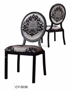 Hotel Furniture Louis Ghost Chair Wedding Round Back Chairs