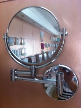 Makeup Desk And Mirror Chrome Covers Mirror Barber Mirrors