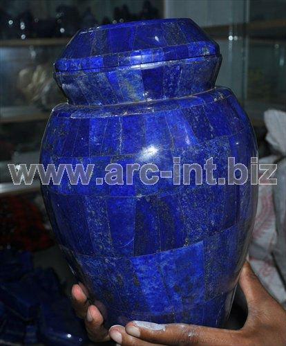 Gemstone Natural Lapis Lazuli Urns Buy Gemstone Urnsurns For