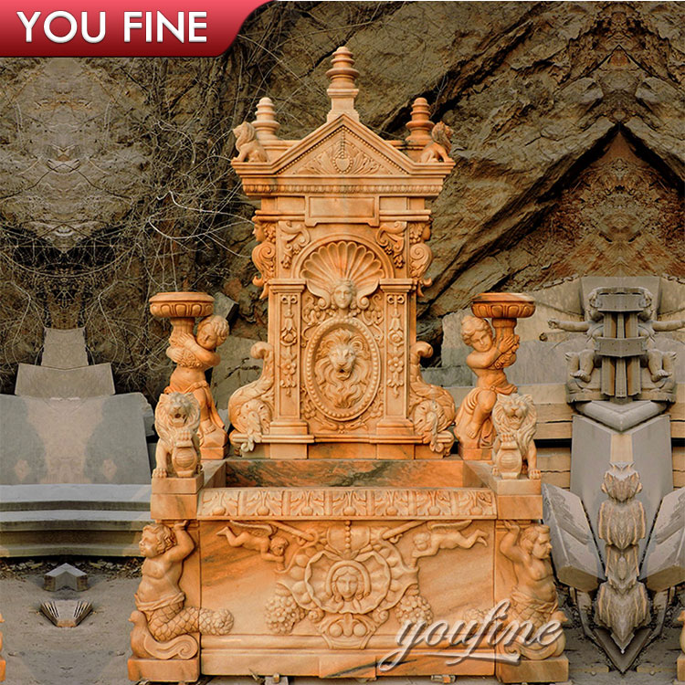 Rome Poseidon Decorative Trevi Stone Garden Water Fountain